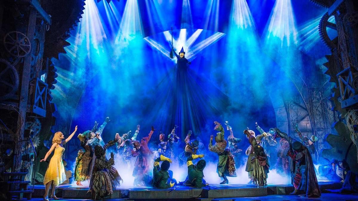 """""""Wicked"""" volta aos palcos do Brasil - no Rio de Janeiro"""