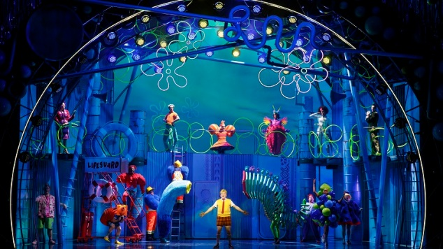 The Sponge Bob Musical Oriental Theatre