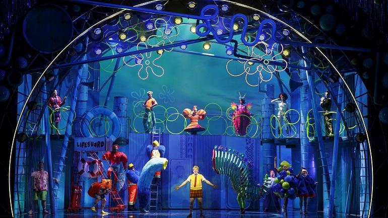 The Sponge Bob Musical Oriental Theatre