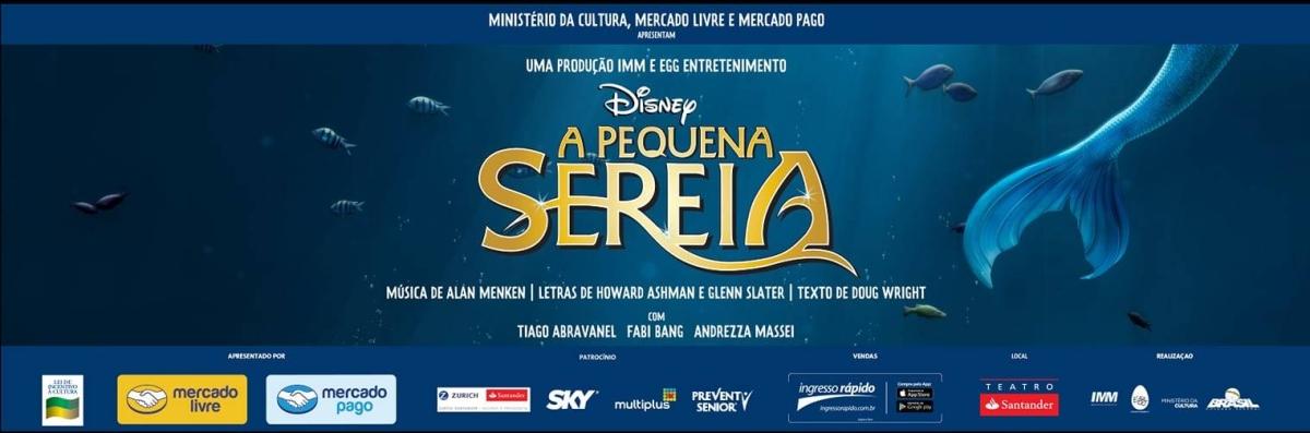 """Confira o elenco completo de """"A Pequena Sereia"""" que estreia em março no Teatro Santander"""