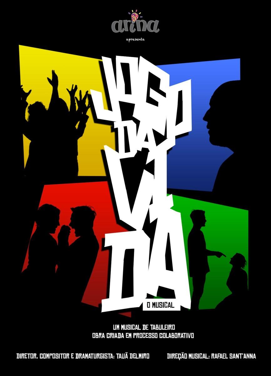 """Inspirado em jogos de tabuleiro, musical """"O Jogo da Vida"""" faz suas últimas apresentações no Teatro dos Quatro (Rio de Janeiro)"""