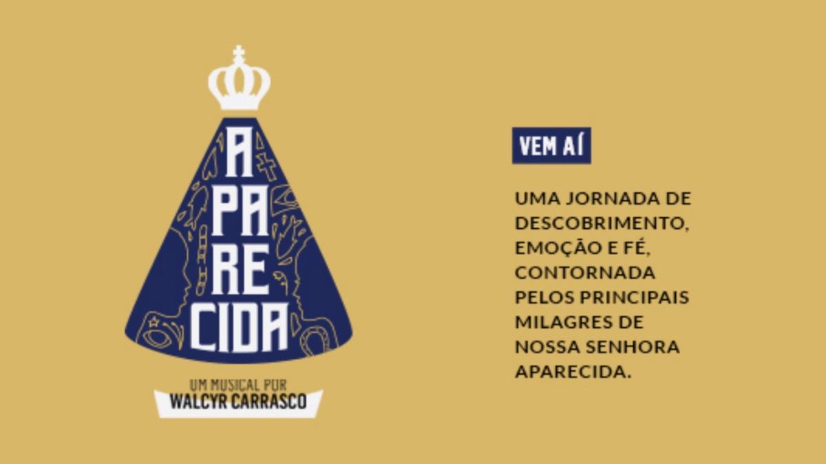 """Conheça o elenco de """"Aparecida - Um Musical"""", que estreia em 22 de março no Teatro Bradesco (SP)"""